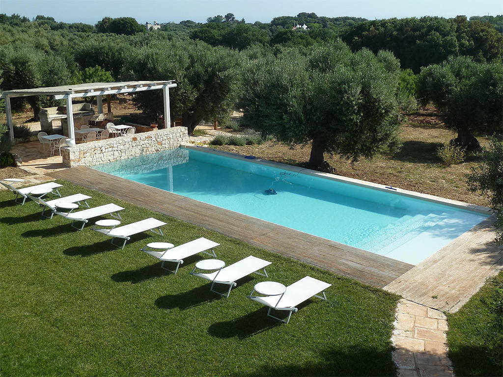 Bed Breakfast In Puglia Dimora Di Campagna Con Piscina